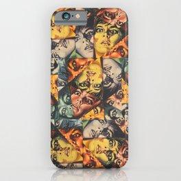 LSD Flesh Of The Devil Collage iPhone Case