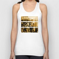 chicago Tank Tops featuring Chicago by DM Davis