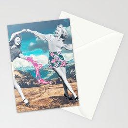Retrodance Stationery Cards