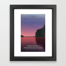 Bon Echo Provincial Park Framed Art Print