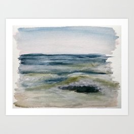 Harvey Cedars LBI Art Print