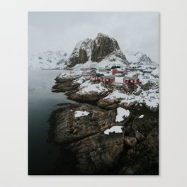 Hamnøy Canvas Print