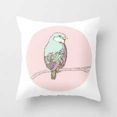 little Bird Throw Pillow