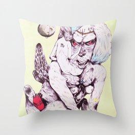 inner neptune Throw Pillow