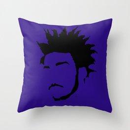 blue violet Throw Pillow