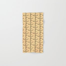 Aldus Manutius Printer Mark Hand & Bath Towel