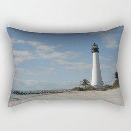 Cape Florida Light House Rectangular Pillow