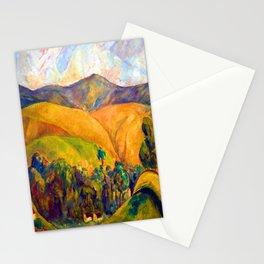 Diego Rivera Landscape Stationery Cards