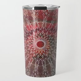 Autumn Mandala Travel Mug