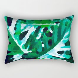 Leaves exotic Rectangular Pillow