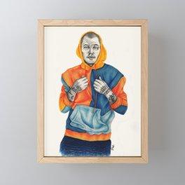 Hoodie  Framed Mini Art Print