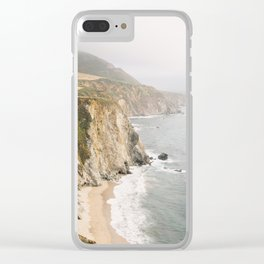 Big Sur California Clear iPhone Case
