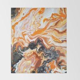 rotten orange Throw Blanket