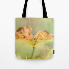 Faded Water Leaf  - JUSTART © Tote Bag