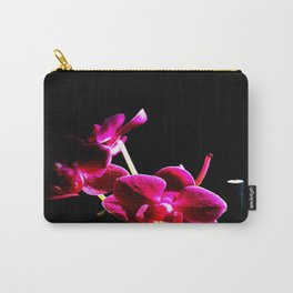Lilla Orchid Carry-All Pouch