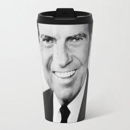 Portrait of Richard Nixon Travel Mug