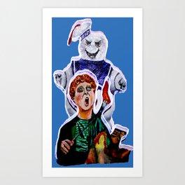 You're Killing Me Puft! Art Print