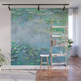 Monet Water Lilies / Nymphéas 1906 Wall Mural
