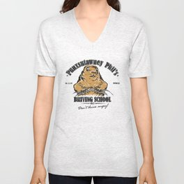 Punxsutawney Phil's Driving School Unisex V-Neck