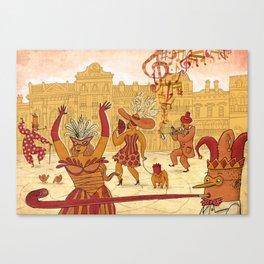 Mardi Gras! Canvas Print