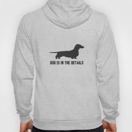 dog is in the details Hoody