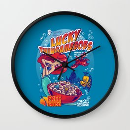 Lucky Thingamabobs Wall Clock