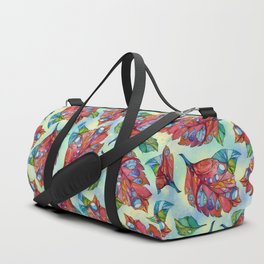 Colorful autumn leaves Duffle Bag