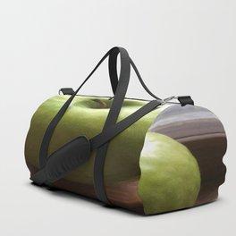 Apple In The Window Duffle Bag