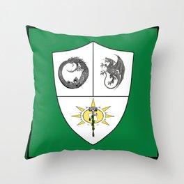 Three Paths Throw Pillow