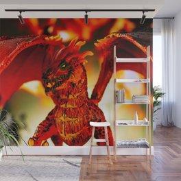 Fire 3 Wall Mural