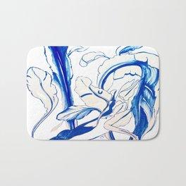 Plant in Blue Marker - Leaf of Life Miracle Leaf - Original Blue Bath Mat