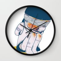 vietnam Wall Clocks featuring VIETNAM by Morbix