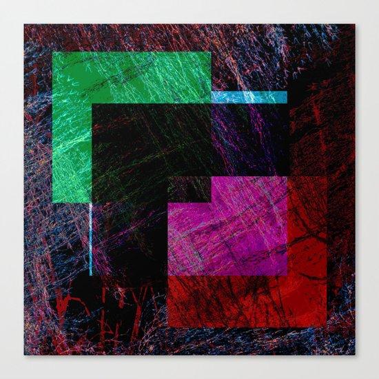 geometric abstract design # ###     ## Canvas Print