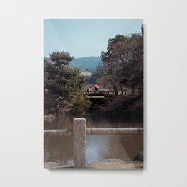 Couple in Nara Metal Print