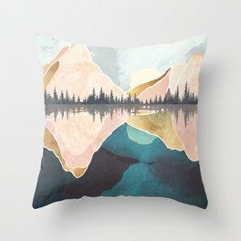 Summer Reflection Throw Pillow