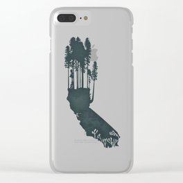 California is...The Forest Clear iPhone Case