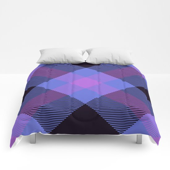 Tartan Pattern Comforters