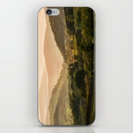 Sunny afternoon in Lake District iPhone Skin