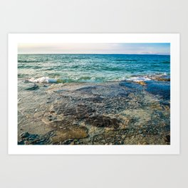 Georgian Bay #4 Art Print