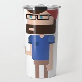 Coffee Hipster Travel Mug