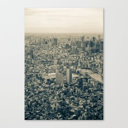 Tokyo Cityscape 03 Canvas Print