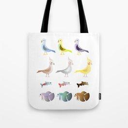 Animals 9 Tote Bag