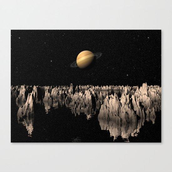 Planet Saturn Canvas Print