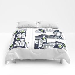 Seattle 12th Man Comforters
