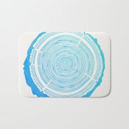 Douglas Fir – Blue Ombré Bath Mat
