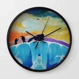 WILD HORIZONE Wall Clock