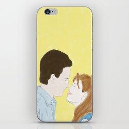Cory & Topanga (Boy Meets World) - Watercolor iPhone Skin