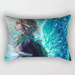 The Wave Rectangular Pillow