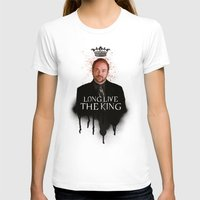 crowley T-shirts featuring Crowley - Supernatural by KanaHyde