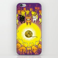 The Mystery of the Golden Yarn. iPhone & iPod Skin